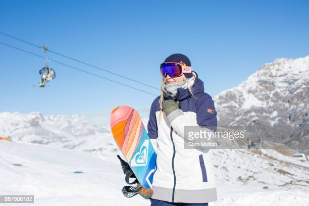 Great British freestyle snowboarder Katie Ormerod from GB Park Pipe the freestyle Ski and Snowboard Olympic development team at their brand new...