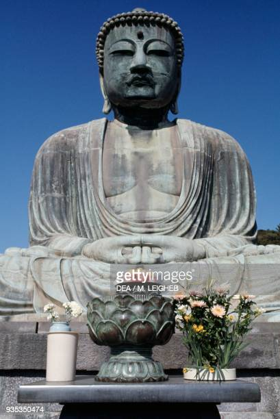 Great Buddha bronze statue of Amida Buddha Kotokuin temple Kamakura Japan