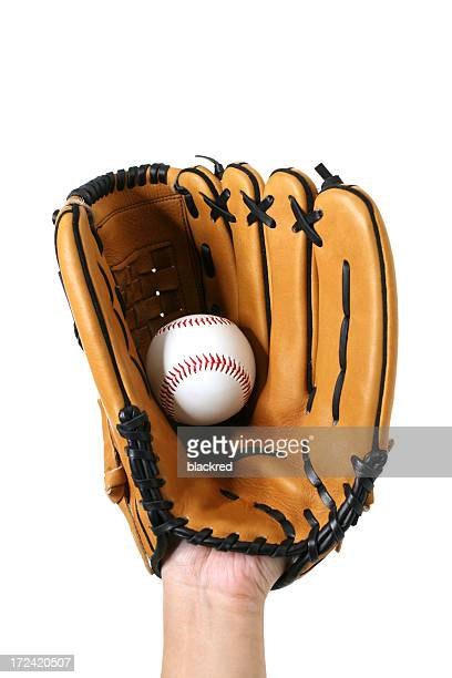 great catch - baseball glove stock pictures, royalty-free photos & images