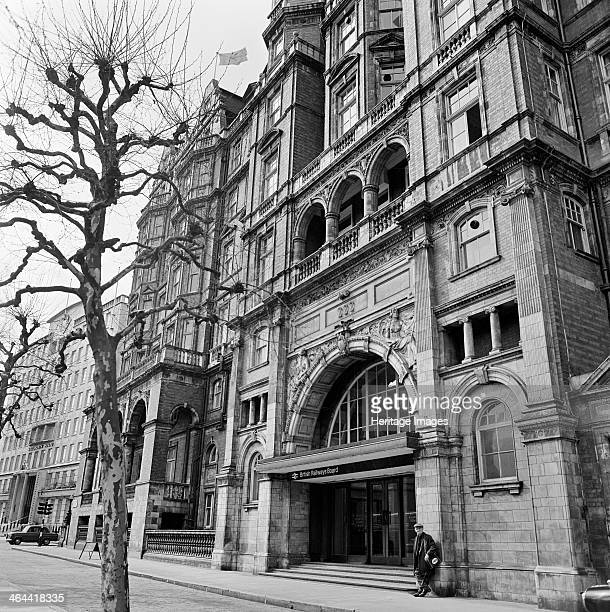 Great Central Hotel 222 Marylebone Road London 1970 The Marylebone Road elevation of the Old Great Central Hotel the headquarters of the British...