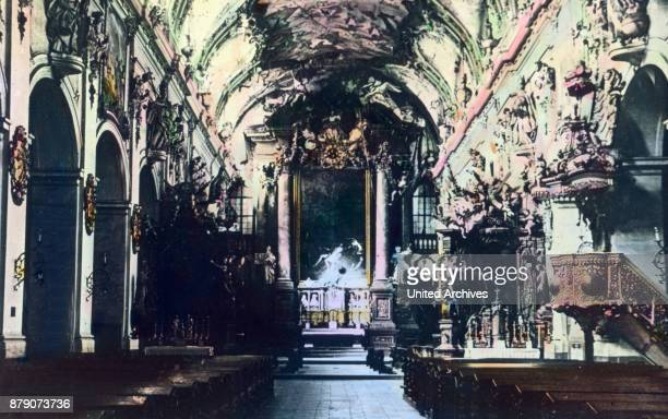 A great change had to learn in the 18th century the interior of the abbey church of St Emmeram in Regensburg The powerful brothers Asam Munich was...