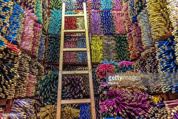 Excellent choix, Spools de fils de soie, Maroc, Afrique