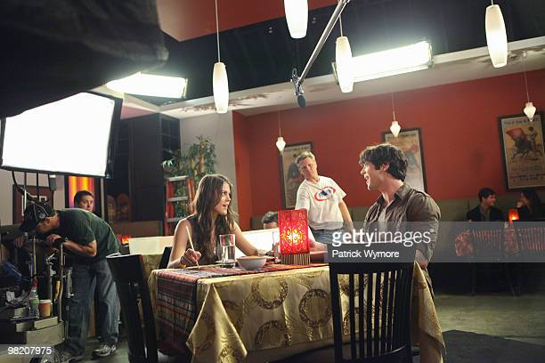 YOU 'Great Expectations' Joey prepares a romantic dinner for Bianca complete with candles fancy food and flowers while across town Patrick teaches...