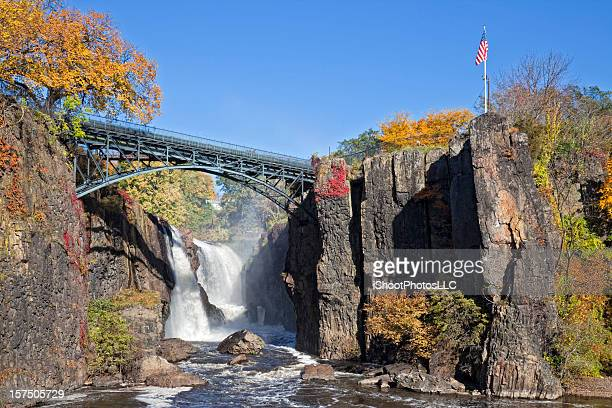 great falls in paterson new jersey - new jersey stock pictures, royalty-free photos & images