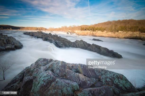 great falls national park - potomac river - arlington virginia stock pictures, royalty-free photos & images