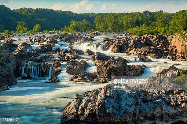 great falls of the potomac - virginia stock pictures, royalty-free photos & images