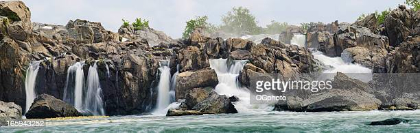 great falls panoramic - ogphoto stock photos and pictures