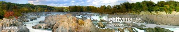 great falls virgina panorama - fairfax county virginia stock photos and pictures