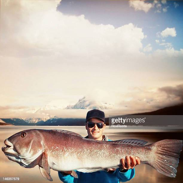 great fishing - big fish stock pictures, royalty-free photos & images