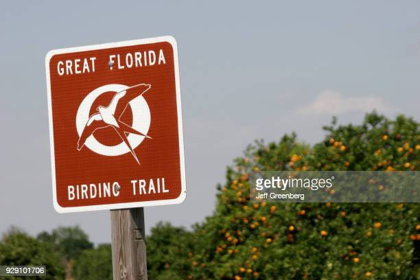 Great Florida Birding Trail sign at the Historic Bok Sanctuary
