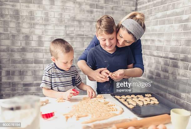 Great fun to make cookies