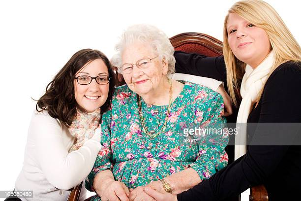 Great GrandMother and Granddaughters  XXL