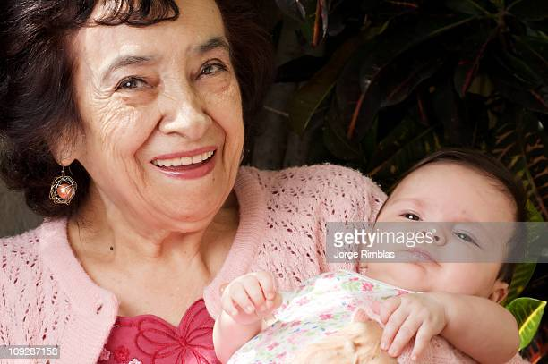 Great Grandmother with Baby