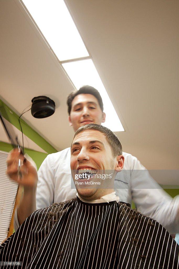 Great Haircut : Stock Photo