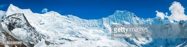 Große Eiswand über Chukhung Glacier Himalaya-Bergpanorama Nepal