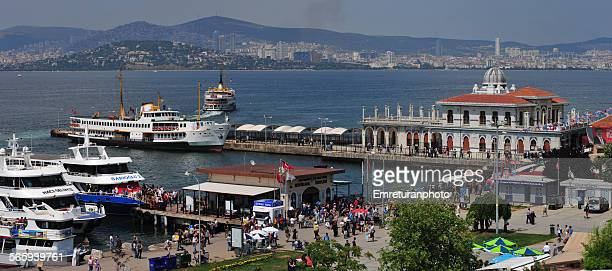 great island pier,istanbul - emreturanphoto stock pictures, royalty-free photos & images