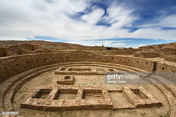Great Kiva at Pueblo Bonito Ruin, Chaco Culture National Historic Park, New Mexico