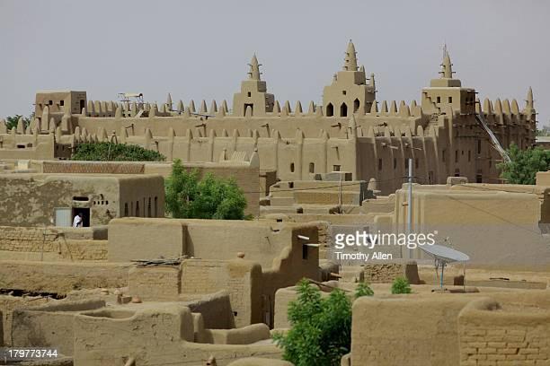 Great Mosque & mud houses, Djenne, Mali