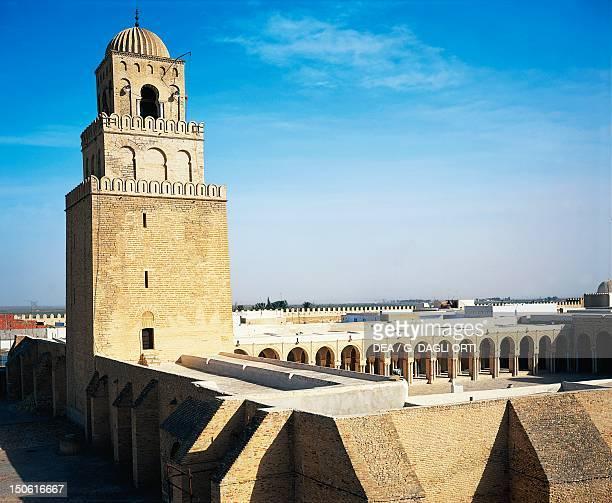 Great Mosque of Kairouan, 9th century, Tunisia.