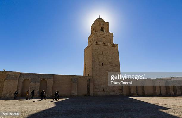 great mosque of kairouan - kairwan stock pictures, royalty-free photos & images