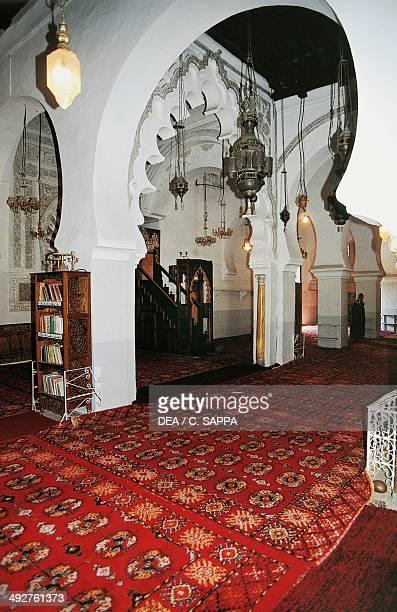 Great Mosque of Tlemcen interior Algeria