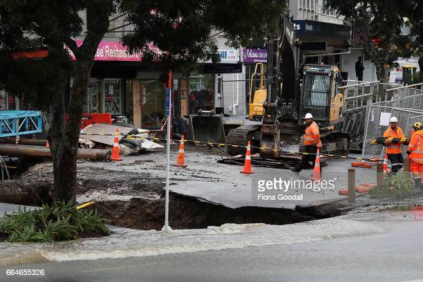 Great North Rd New Lynn is again closed due to flooding which has further damaged the culvert affected by record rainfall and flooding last month on...