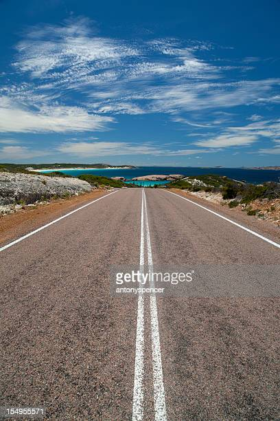 great ocean drive, esperance, western australia. - western australia stock photos and pictures