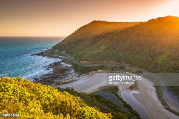great ocean road, victoria, australia. - victoria australia stock pictures, royalty-free photos & images