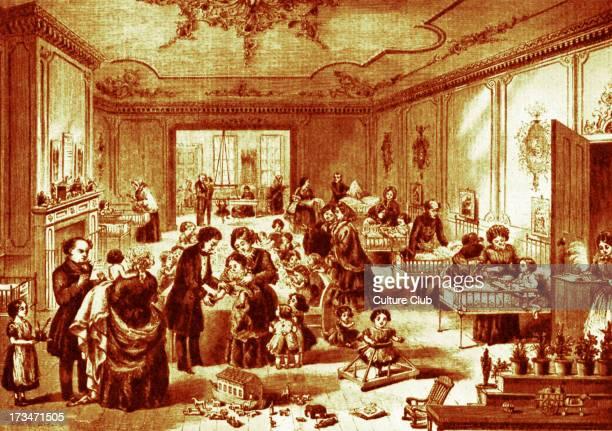 Great Ormond Street Hospital, hospital for sick children. 1858