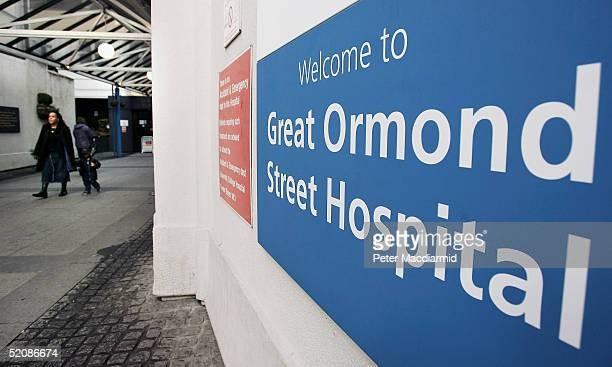 Great Ormond Street Hospital January 29 2004 in London England The Special Trustees of Great Ormond Street Children's Hospital who own the copyright...
