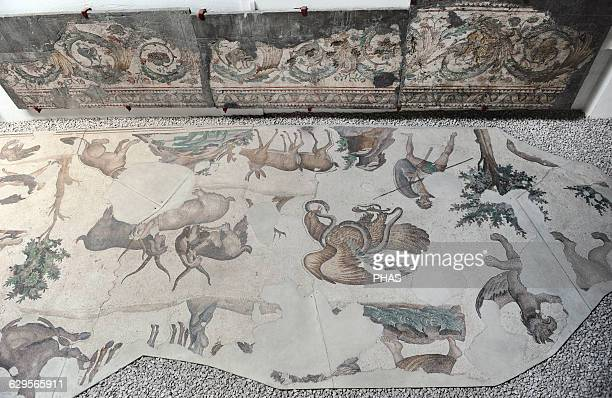 Great Palace Mosaic Museum 4th6th centuries Istanbul Turkey