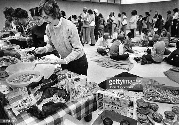 MAR 18 1974 MAR 23 1974 MAR 27 1974 Great Park Hill Community Inc A potluck dinner for students and tutors closes study hall program The program...