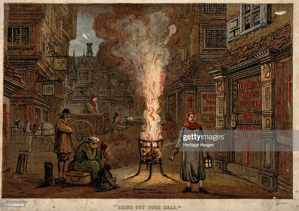 Great Plague In London : News Photo