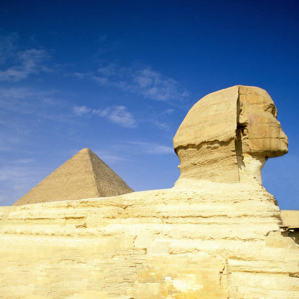 Great Pyramid Of Giza And The Sphinx, Egypt Wall Art