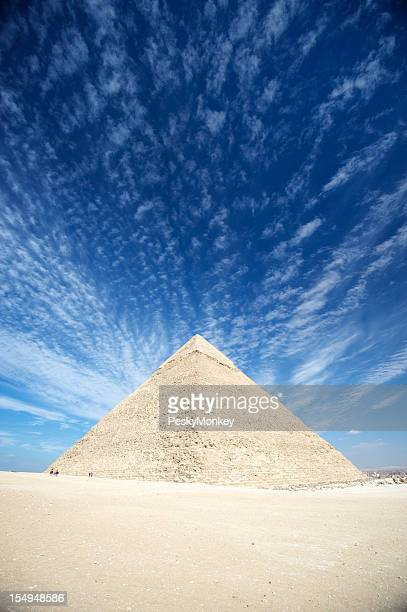 Great Pyramid of Giza Vibrant Skyscape