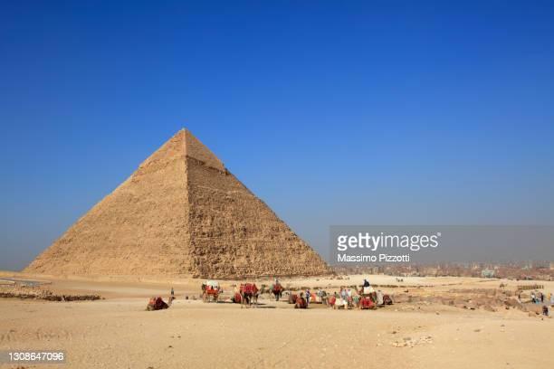 great pyramid of khufu - massimo pizzotti foto e immagini stock