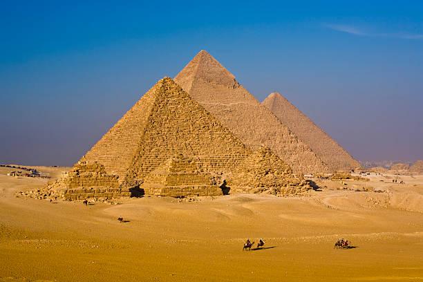 Great Pyramids Of Egypt Wall Art