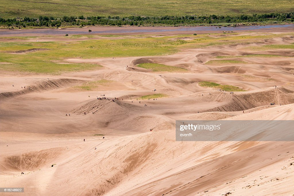 Great Sand Dunes National Park und Reservat, Colorado : Stock-Foto