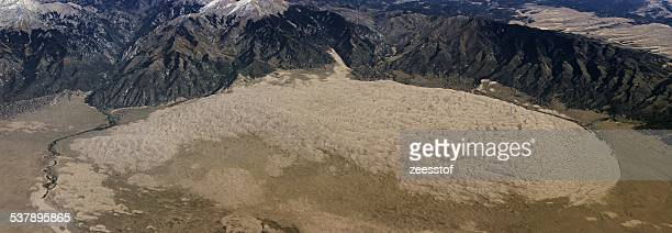 great sand dunes national park - zeesstof stock pictures, royalty-free photos & images