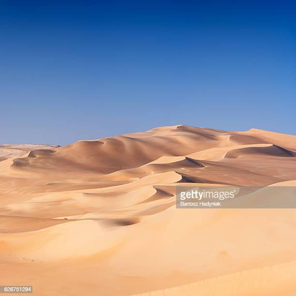 Grande mar de areia, Líbia, deserto de África
