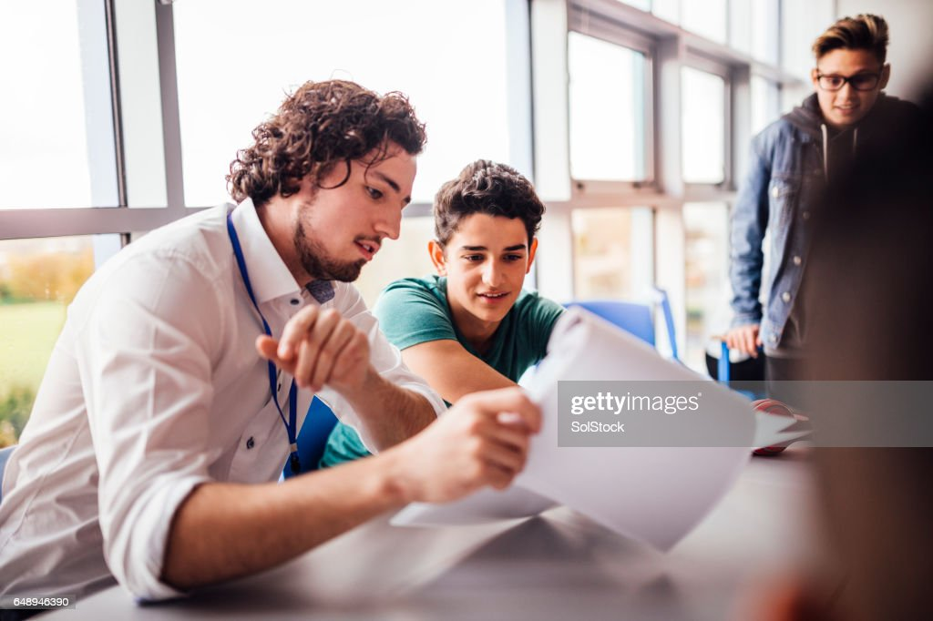 Great School Work : Stock Photo