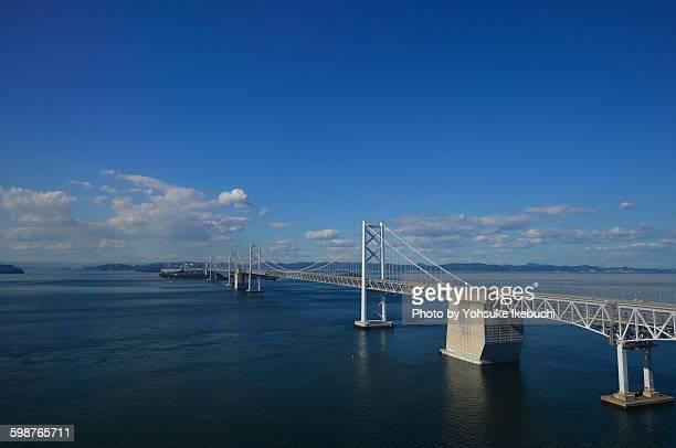 great seto bridge - kagawa ストックフォトと画像