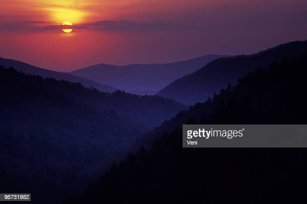 Great Smoky Mountains from Morton Overlook