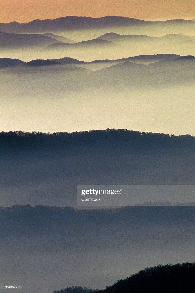 Great Smoky Mountains National Park : Stockfoto
