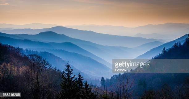great smoky mountains - clingman's dome - fotografias e filmes do acervo