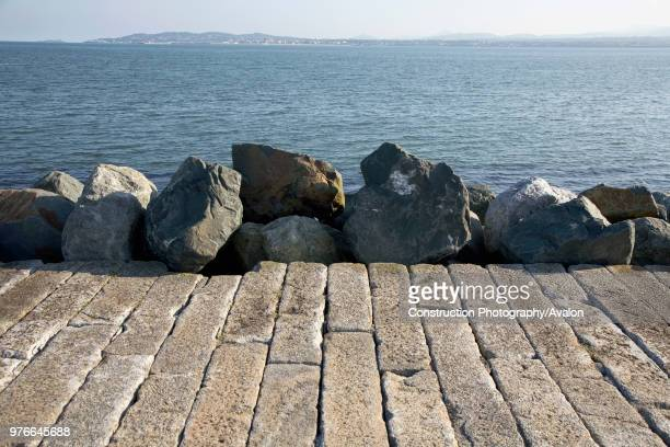 Great South Wall Dublin Bay Ringsend Dublin Ireland Designed to prevent the silting up of the bay the wall was completed in 1786 and uses granite...