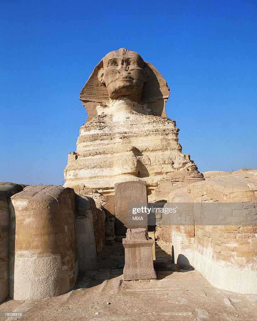 Great Sphinx in Giza, Egypt : Stock Photo