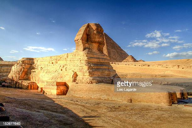 great sphinx of giza - the sphinx stock pictures, royalty-free photos & images