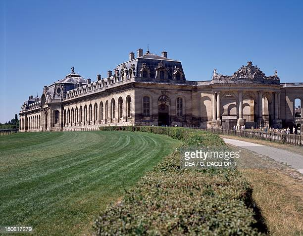 Great stables in Louis XV style Chateau de Chantilly France 16th century