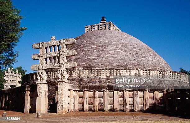 Great Stupa of Sanchi.
